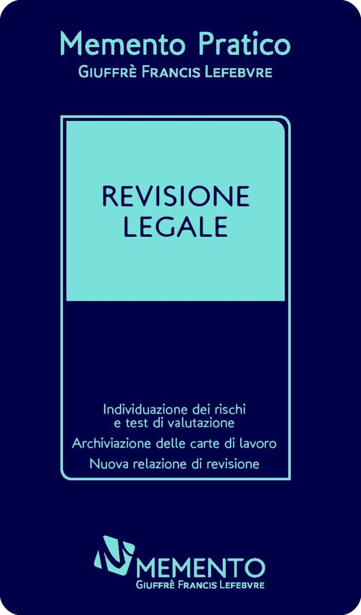 Memento Revisione legale